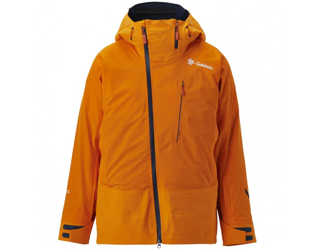 Мужская лыжная куртка Goldwin Aithēr Jacket M Orange