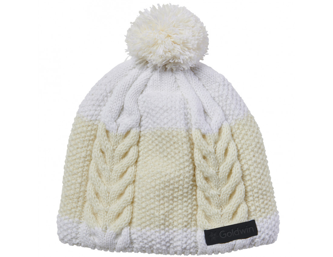 Зимняя шапка Goldwin Big Herringbone Beanie White