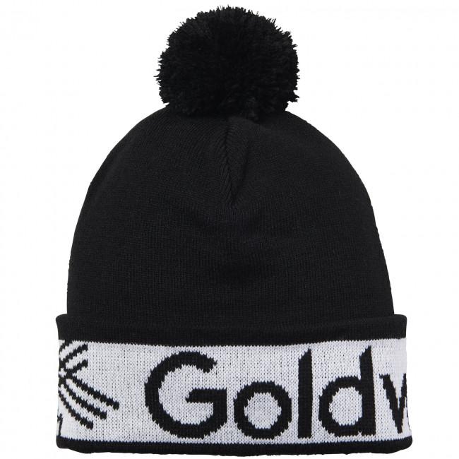 Зимняя шапка Goldwin Logo Beanie Black