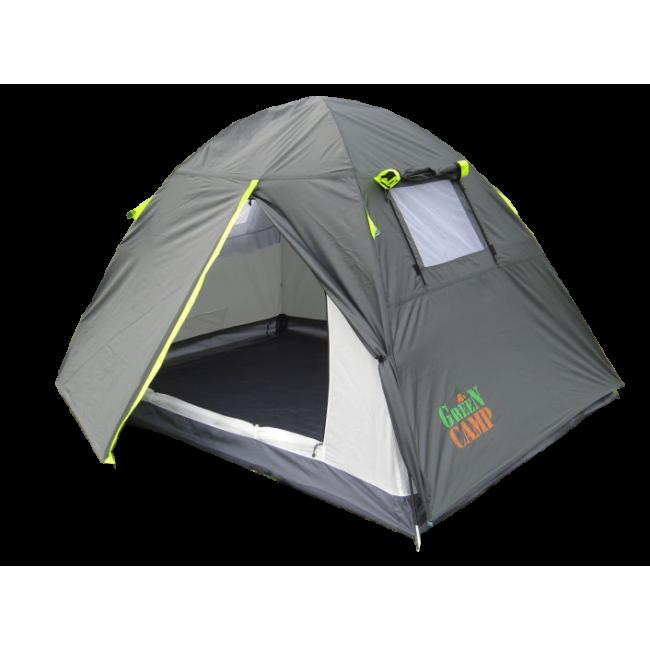 Палатка двухместная Green Camp 1001A