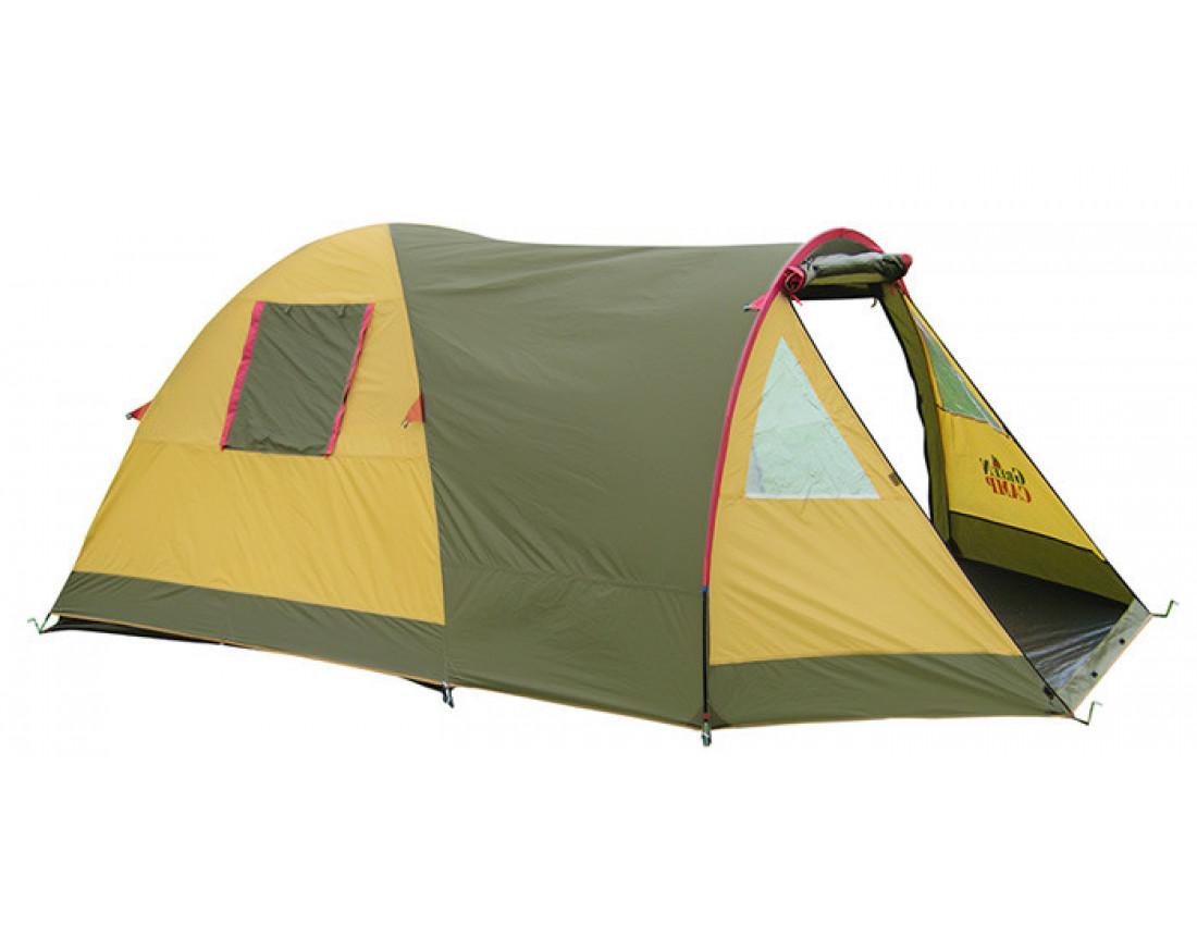 Палатка трехместная GreenCamp Х-1504