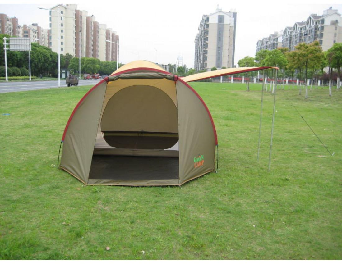 Палатка четырехместная GreenCamp Х-1036