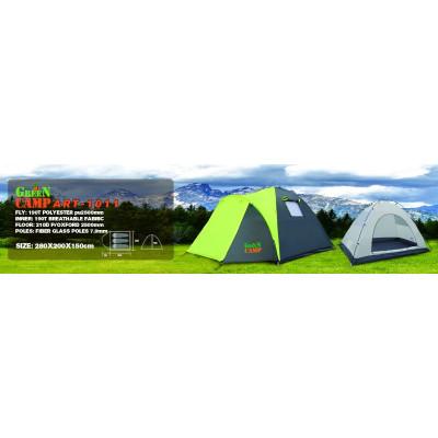 Палатка 3-х местная GreenCamp 1011