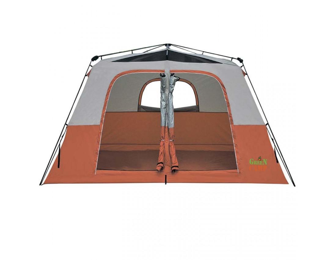 Палатка шестиместная GreenCamp 1610