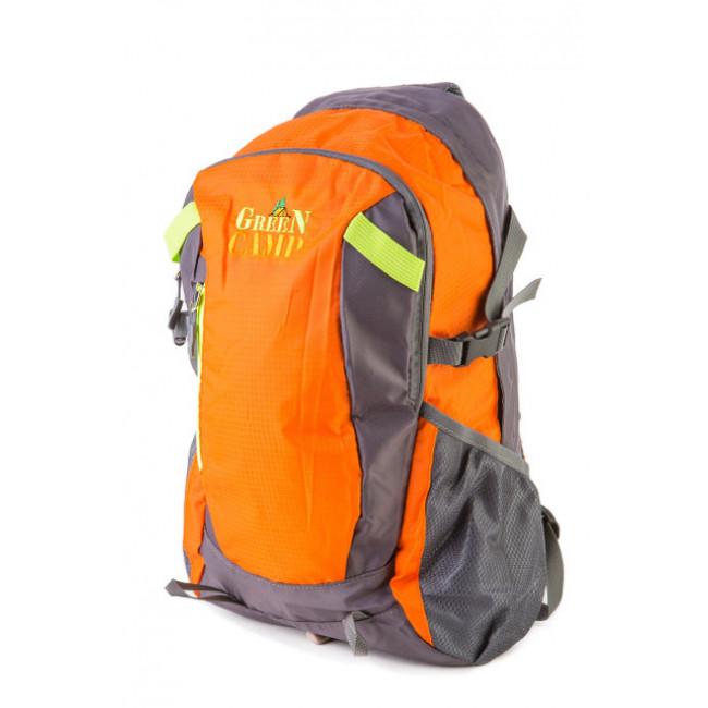 Рюкзак GREEN CAMP 25 л GC-619 (109) оранжевый