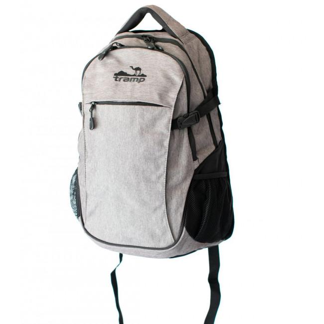Рюкзак городской Tramp Clever серый 25 л