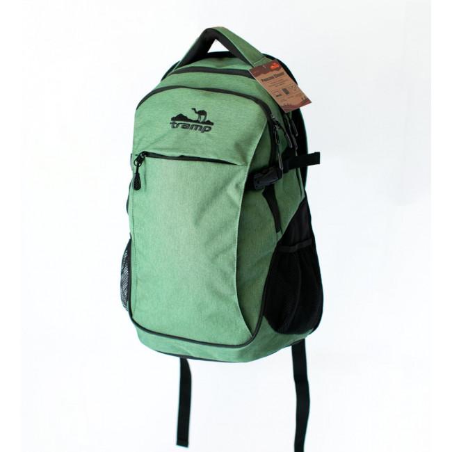 Рюкзак городской Tramp Clever зеленый 25 л