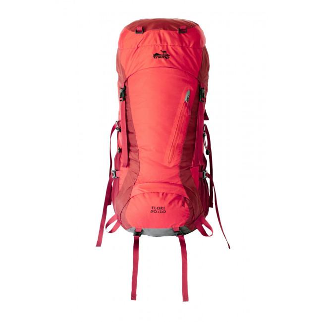 Туристический рюкзак Tramp Floki 50+10 красный