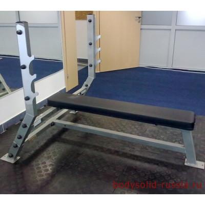 Горизонтальная скамья для жима Body-Solid ProClub SFB-349G