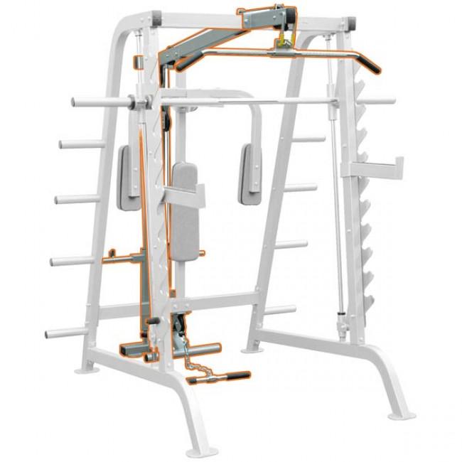 Опция-Верхняя и Нижняя тяга IMPULSE Half Cage Lat Attachment IFHCL
