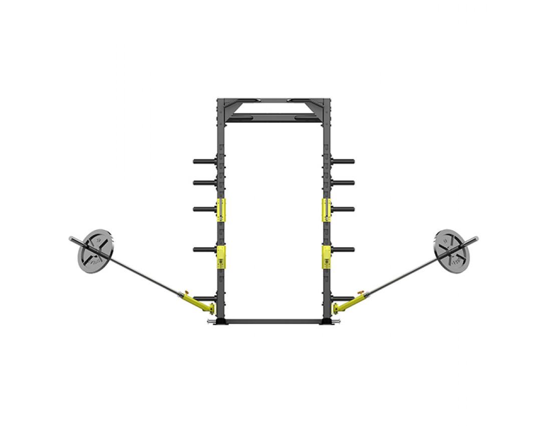 Силовая рама для упражнений со штангой Impulse Power Rack Station IZ7004