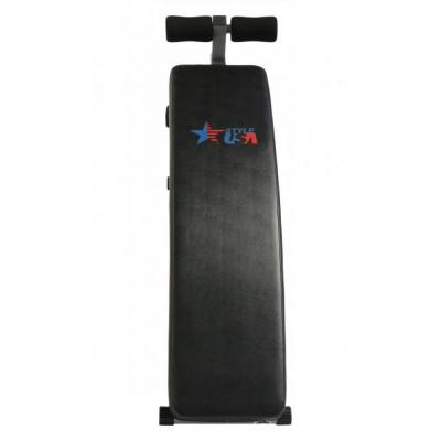 Скамья для пресса USA Style SS-104 изогнутая