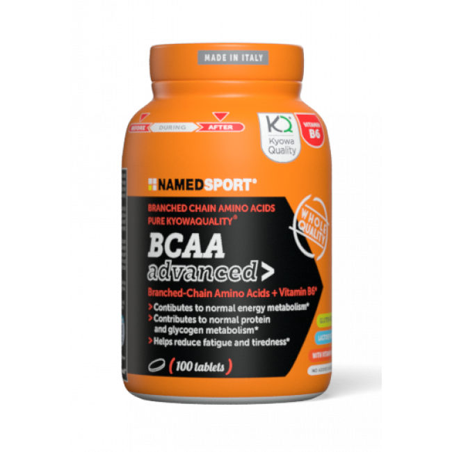Аминокислота Namedsport BCAA advanced 100 таблеток