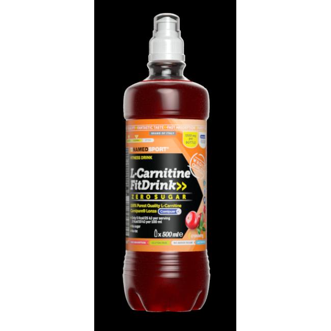 Жиросжигатель Namedsport L-CARNITINE FIT DRINK 1500 мг 500 мл Клюква