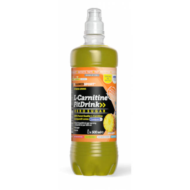 Жиросжигатель Namedsport L-CARNITINE FIT DRINK 1500 мг 500 мл Ананас