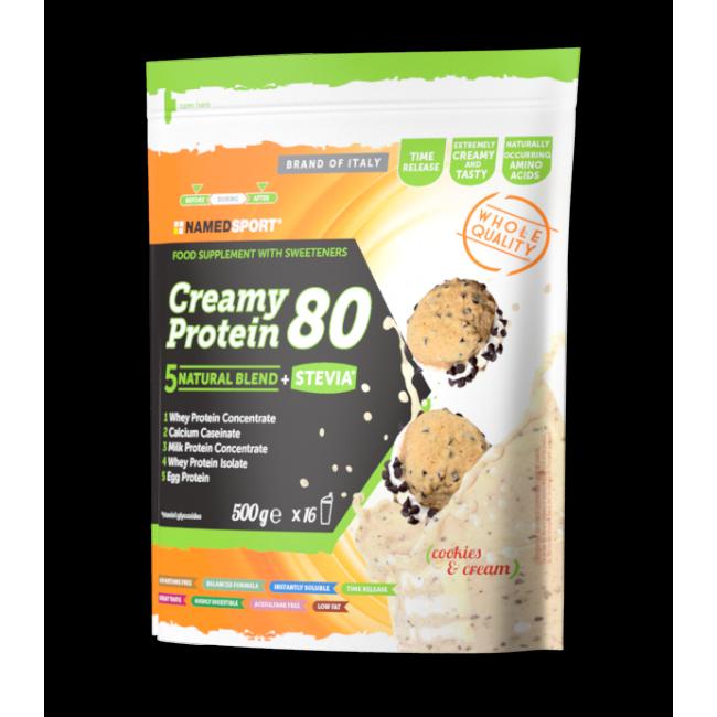Протеин Namedsport CREAMY PROTEIN 80 (500 г) Кремовое печенье
