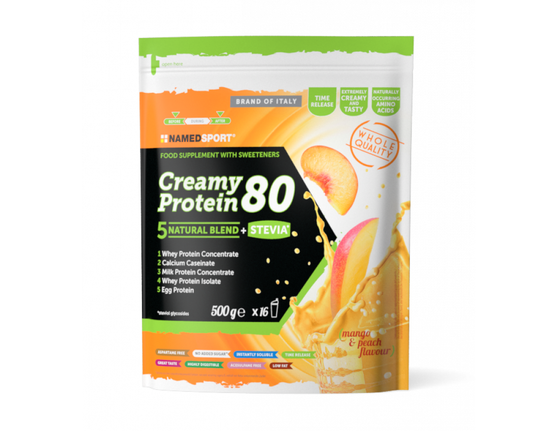 Протеин Namedsport CREAMY PROTEIN 80 (500 г) Ваниль