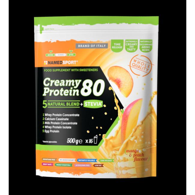 Протеин Namedsport CREAMY PROTEIN 80 (500 г) Манго-персик