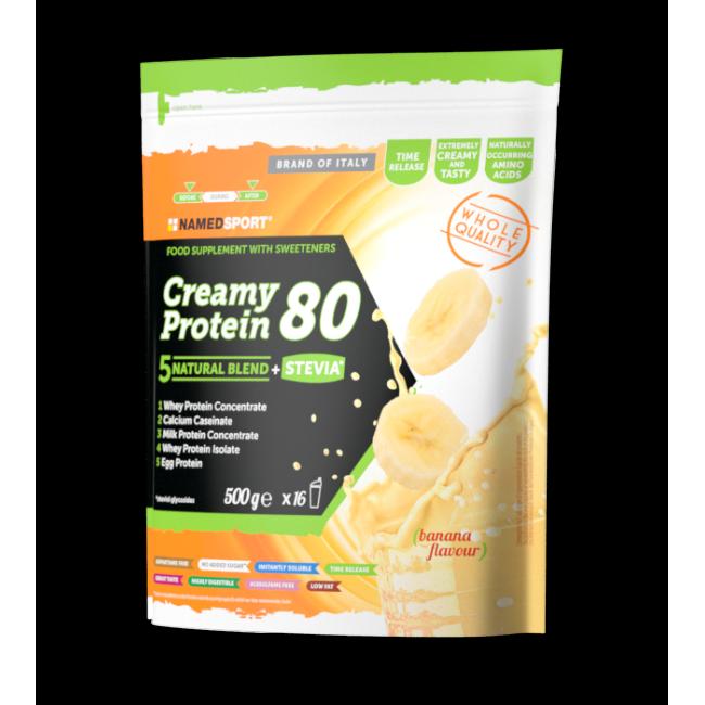 Протеин Namedsport CREAMY PROTEIN 80 (500 г) Банан