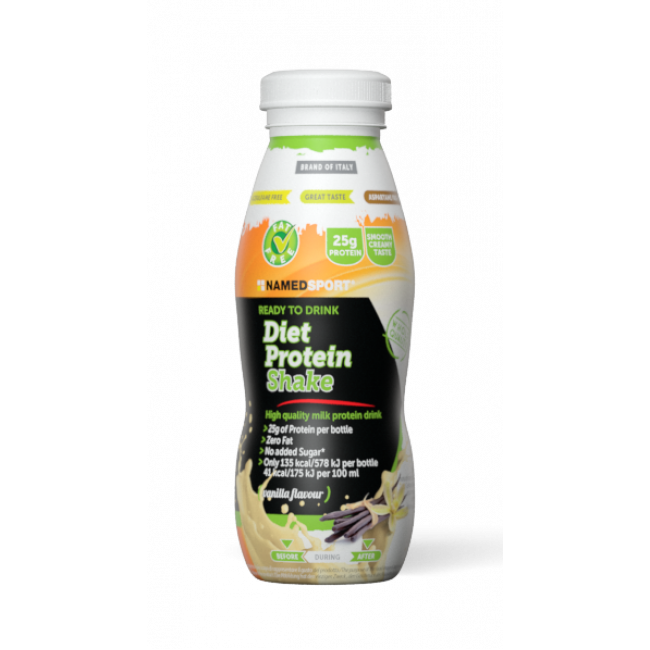 Протеиновый напиток Namedsport DIET PROTEIN SHAKE 330 мл Ваниль