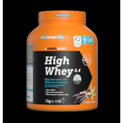 Протеин Namedsport HIGH WHEY (1 кг) Кремовое печенье