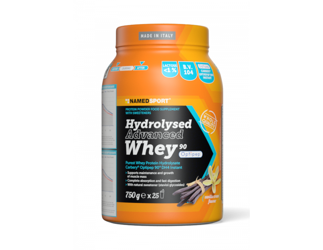 Протеин Namedsport HYDROLYSED ADVANCED WHEY (750 г) Ваниль
