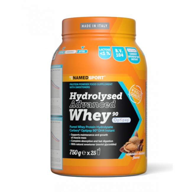 Протеин Namedsport HYDROLYSED ADVANCED WHEY (750 г) Шоколад-миндаль