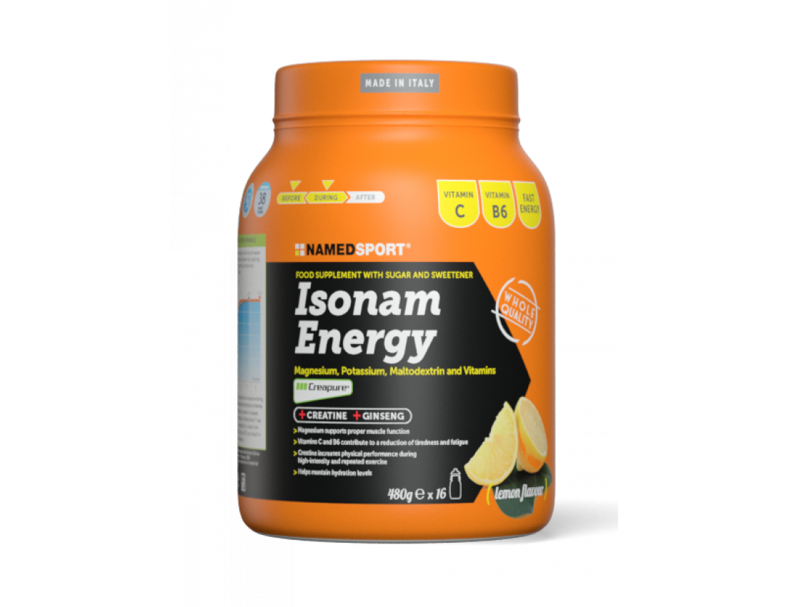 Изотоник Namedsport ISONAM ENERGY 480 г Лимон