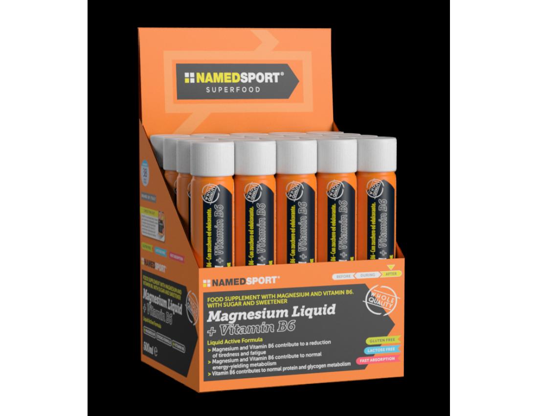 Жидкий магний 400 мг Namedsport MAGNESIUM LIQUID +VITAMIN B6 25 мл