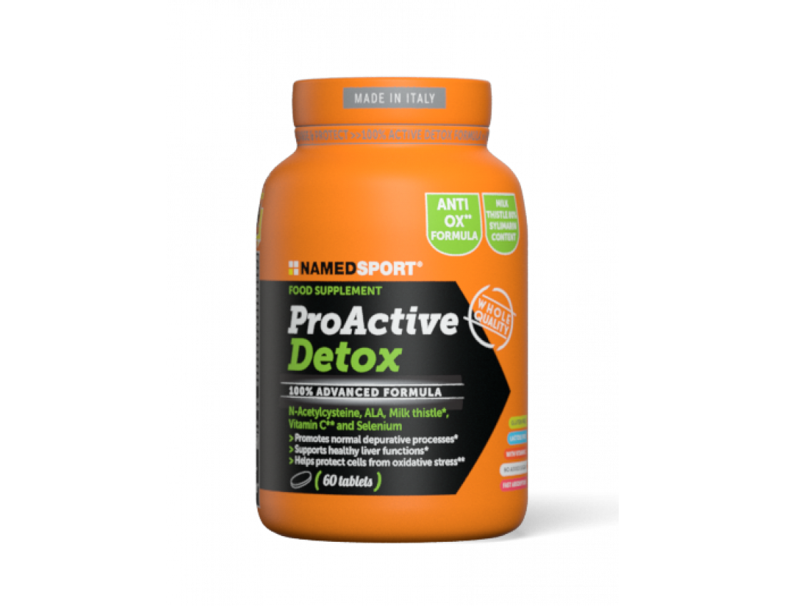 Namedsport PROACTIVE DETOX 60 таблеток
