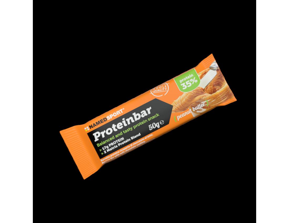 Протеиновый батончик 35% Namedsport PROTEINBAR 50 г Арахисовая паста