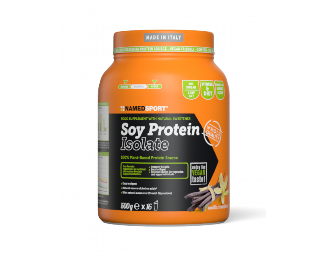 Протеин Namedsport SOY PROTEIN ISOLATE (500 г) Шоколад