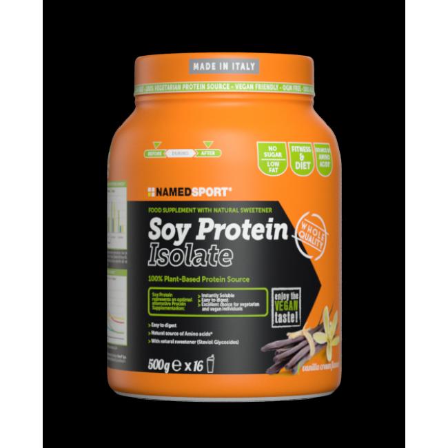 Протеин Namedsport SOY PROTEIN ISOLATE (500 г) Ваниль