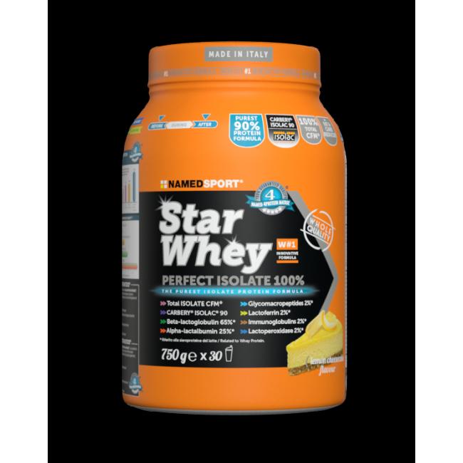 Протеин Namedsport STAR WHEY ISOLATE (750 г) Лимонный чизкейк