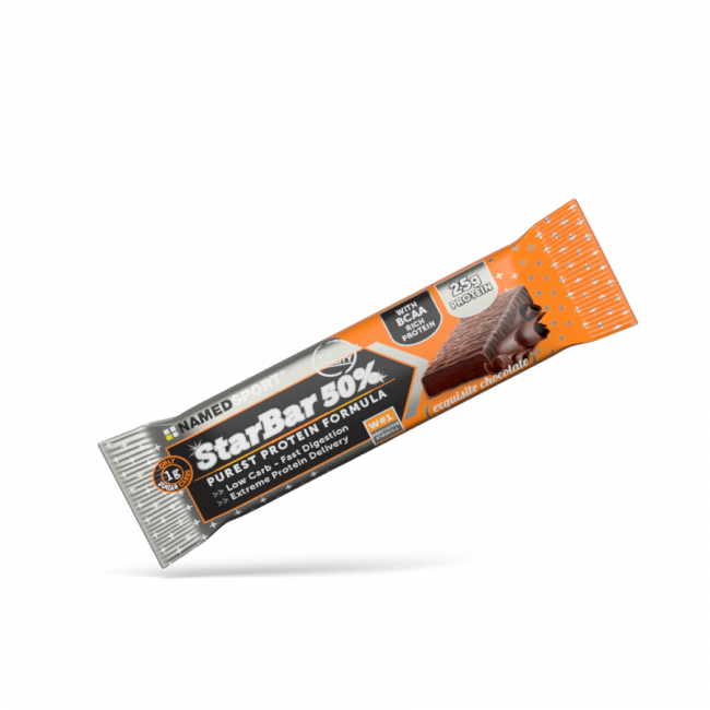 Протеиновый батончик Namedsport STARBAR 50% PROTEIN 50 г Шоколад