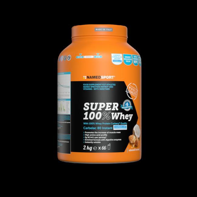 Протеин Namedsport SUPER 100% WHEY 2 кг кокосовый миндаль