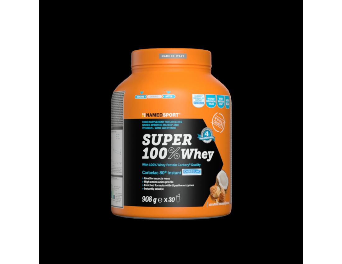 Протеин Namedsport SUPER 100% WHEY 908 гр шоколад