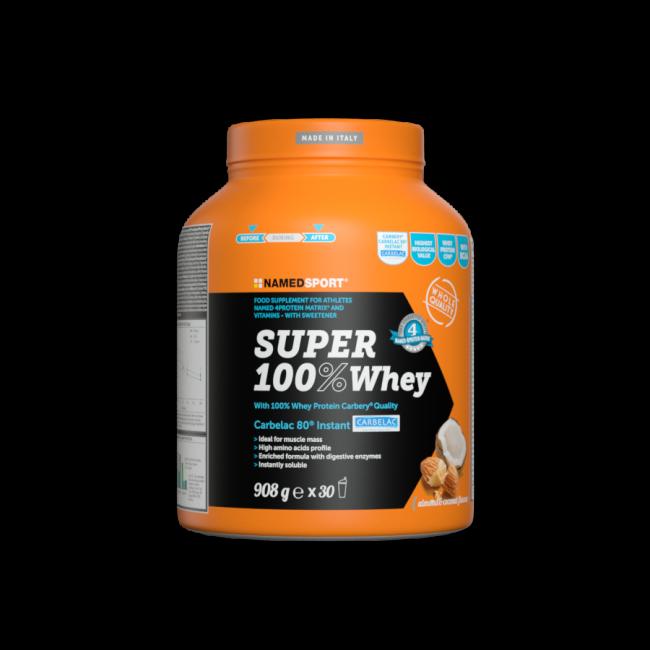 Протеин Namedsport SUPER 100% WHEY 908 гр кокосовый миндаль