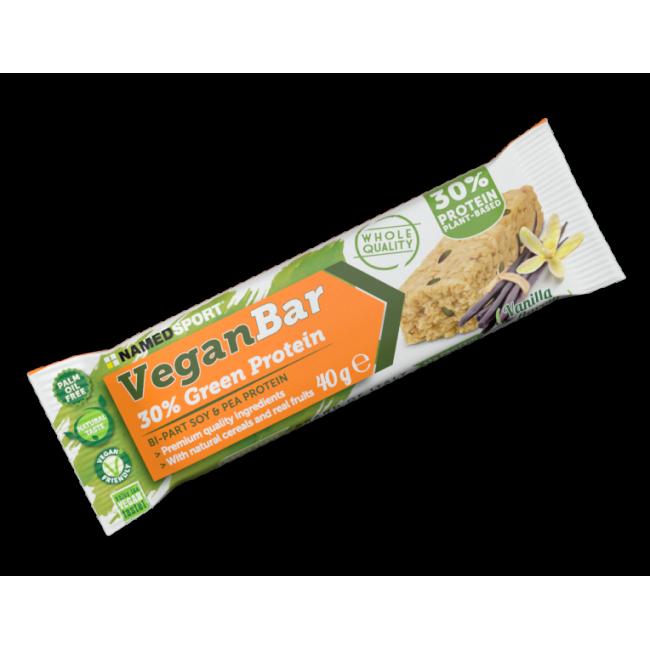 Веганский протеиновый батончик 30% Namedsport VEGAN PROTEIN BAR 40 г ваниль
