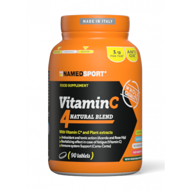 Витамины VITAMIN C 4Natural Blend 90 капсул
