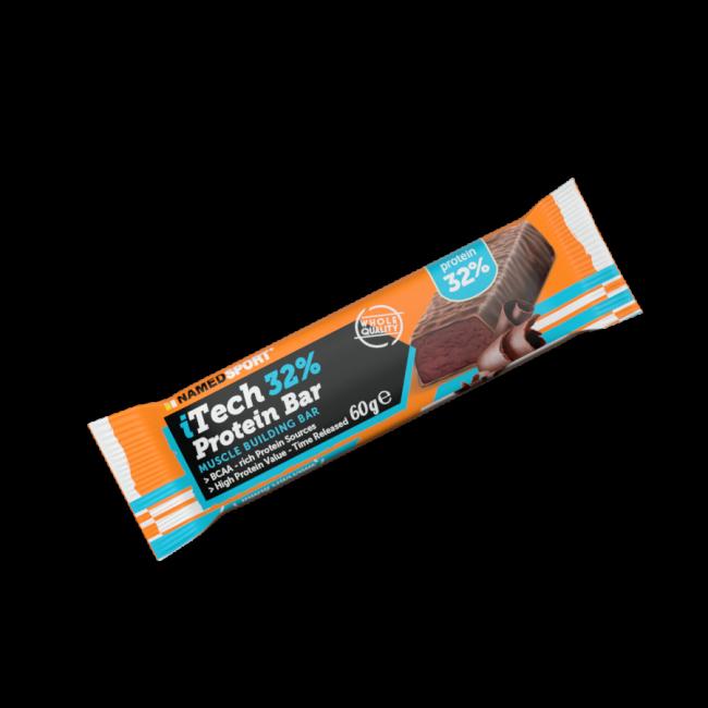 Протеиновый батончик Namedsport iTECH 32% PROTEINBAR 60 г Молочный шоколад
