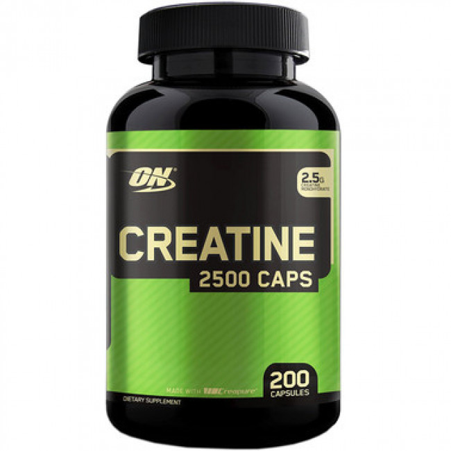 Креатин Optimum Nutrition Creatine Powder 200 капс