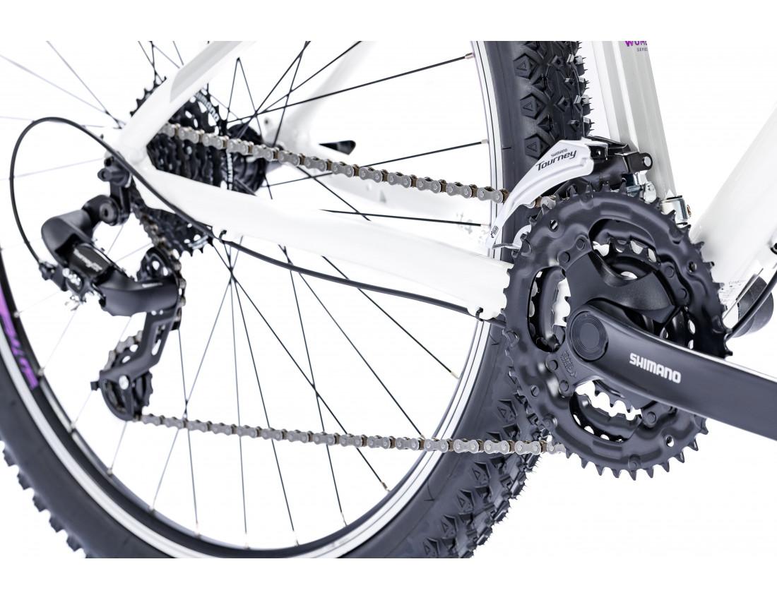 Велосипед LAPIERRE EDGE 127 W [2018] WHITE (B121_40M) женский