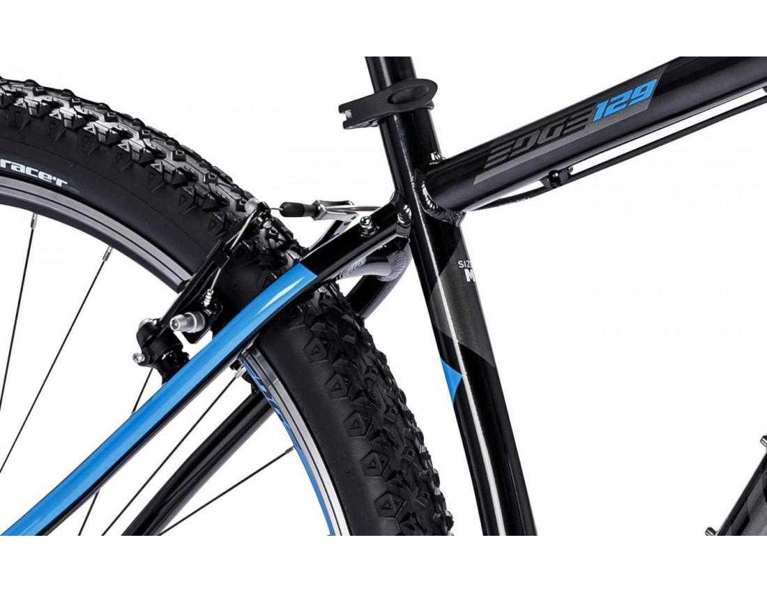 Велосипед LAPIERRE EDGE 129 M [2018] BLACK - BLUE (B122_44M) унисекс
