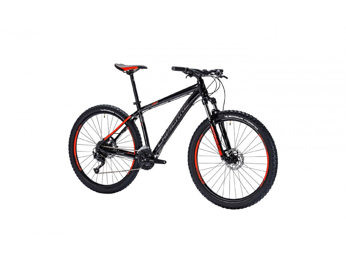 Велосипед LAPIERRE EDGE 227 M [2018] BLACK - RED (B123_44)