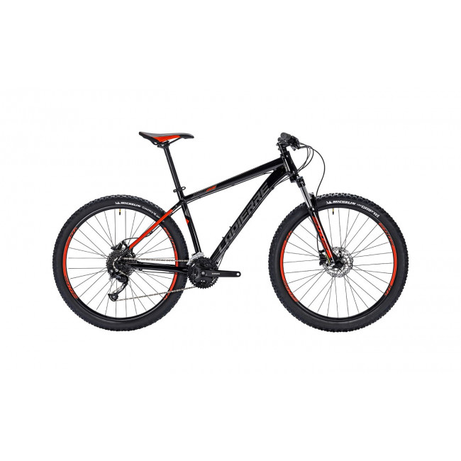 Велосипед LAPIERRE EDGE 229 M [2018] BLACK - RED (B124_44) унисекс