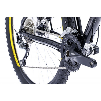 Велосипед LAPIERRE EDGE 327 M [2018] BLACK - YELLOW (B126_44) унисекс