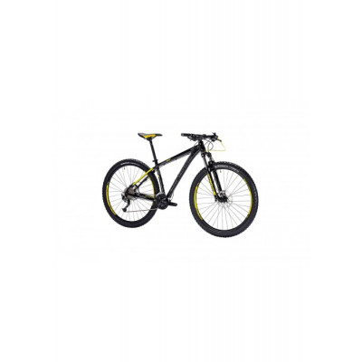 Велосипед LAPIERRE EDGE 327 L [2018] BLACK - YELLOW (B126_48) унисекс