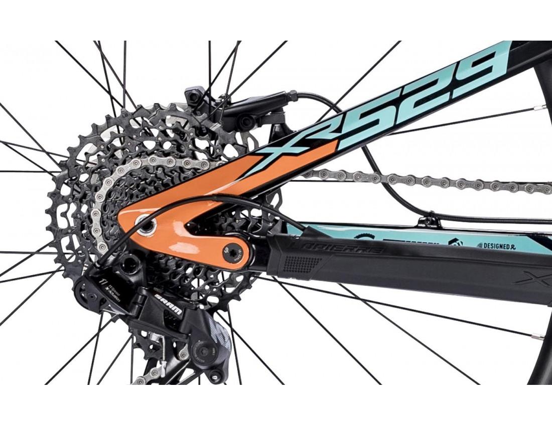 Велосипед LAPIERRE VTT XR 529 L [2018] BLACK (B203_47L) унисекс