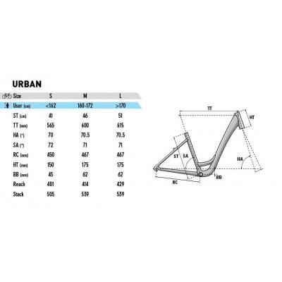 Велосипед LAPIERRE URBAN 400 M [2018] BLACK (B542_46M) унисекс